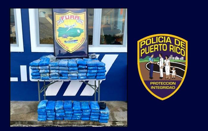 Ocupan cargamento de cocaína valorado en $3.2 millones