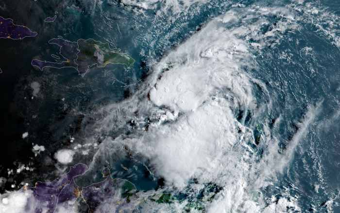 Tormenta dejaría de 3 a 6 pulgadas de lluvia