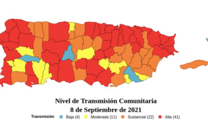 8 pueblos del sur en alta transmisión de Covid