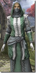 Abah's Watch Robe - Female Close Front