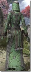 Ancient Elf Homespun Robe - Female Back