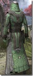 Ancient Elf Homespun Robe - Male Back
