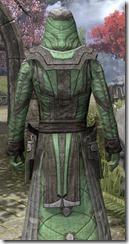 Ancient Elf Homespun Robe - Male Close Back