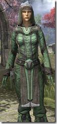 Ancient Elf Homespun Shirt - Female Close Front