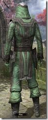Ancient Elf Homespun Shirt - Male Back