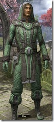 Ancient Elf Homespun Shirt - Male Front