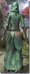 Ancient Orc Homespun Robe - Female Back