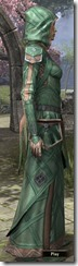 Ancient Orc Homespun Robe - Female Side