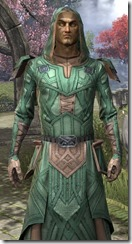 Ancient Orc Homespun Robe - Male Close Front