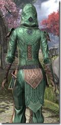 Ancient Orc Homespun Shirt - Female Close Back