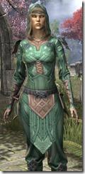 Ancient Orc Homespun Shirt - Female Close Front