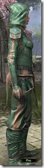 Ancient Orc Homespun Shirt - Female Side