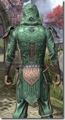 Ancient Orc Homespun Shirt - Male Close Back