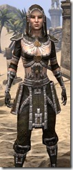Argonian Cotton - Female Sbirt Close Front