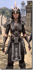 Argonian Full-Leather - Female Close Front