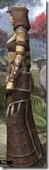 Argonian Homespun Robe - Female Side