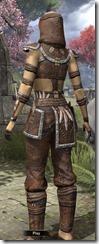 Argonian Homespun Shirt - Female Back