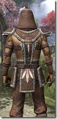Argonian Homespun Shirt - Male Close Back