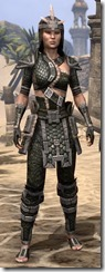 Argonian Leather - Female Front