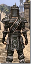 Argonian Leather - Male Close Rear