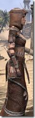 Argonian Linen - Female Robe Close Side