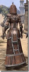 Argonian Linen - Female Robe Rear