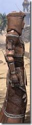 Argonian Linen - Male Robe Close Side