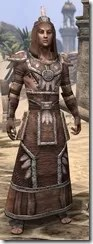 Argonian Linen - Male Robe Front