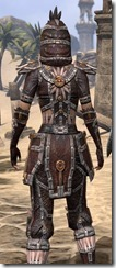 Argonian Spidersilk - Female Shirt Close Rear