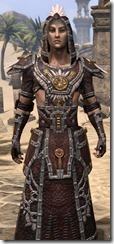 Argonian Spidersilk - Male Robe Close Front