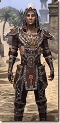 Argonian Spidersilk - Male Shirt Close Front