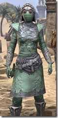 Ashlander Homespun - Female Shirt Close Front