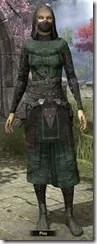 Assassins League Robe - Female Front