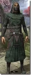 Assassins League Robe - Male Front