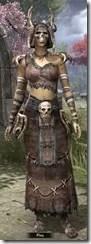 Barbaric Homespun Robe - Female Front