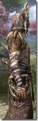 Barbaric Homespun Robe - Male Close Side