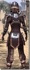 Breton Full-Leather - Female Close Rear