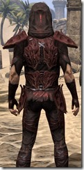 Coat of the Red Mountain - Male Close Back