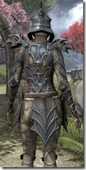 Daedric Iron - Female Close Back