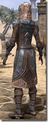 Dark Brotherhood Iron - Female Back