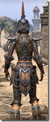 Dark Elf Full-Leather - Female Close Rear