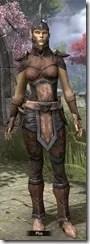 Dunmer Rawhide - Female Front
