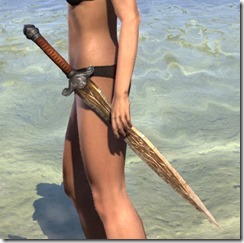 Akaviri Dwarven Sword