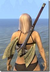 Ancient Elf Iron Battle Axe 2