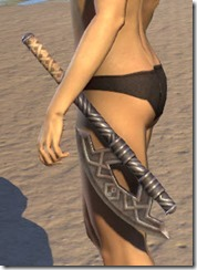 Ancient Orc Iron Axe
