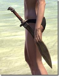 Argonian Dwarven Sword