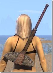 Argonian Iron Battle Axe 2