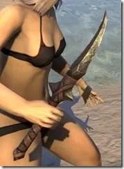 Barbaric Iron Dagger 2