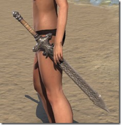 Daggerfall Covenant Iron Sword