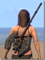 Draugr Iron Battle Axe 2